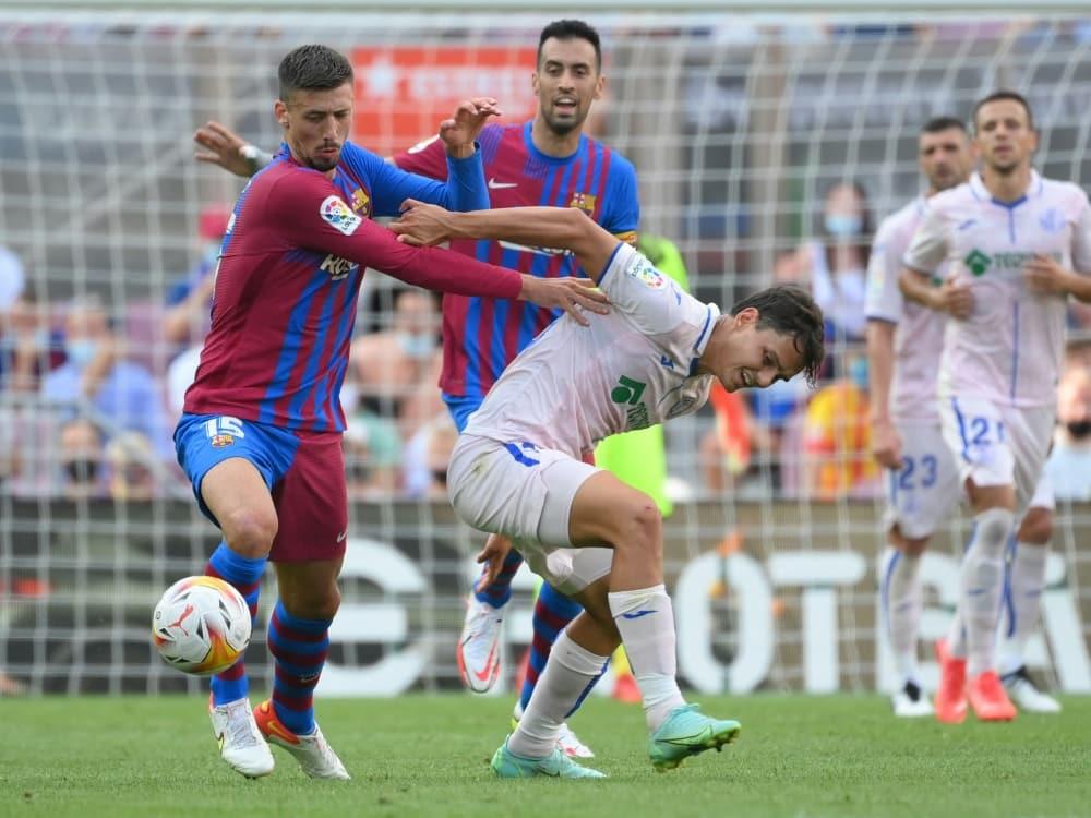 Barcelona gewinnt mit 2:1 gegen den FC Getafe. ©SID LLUIS GENE