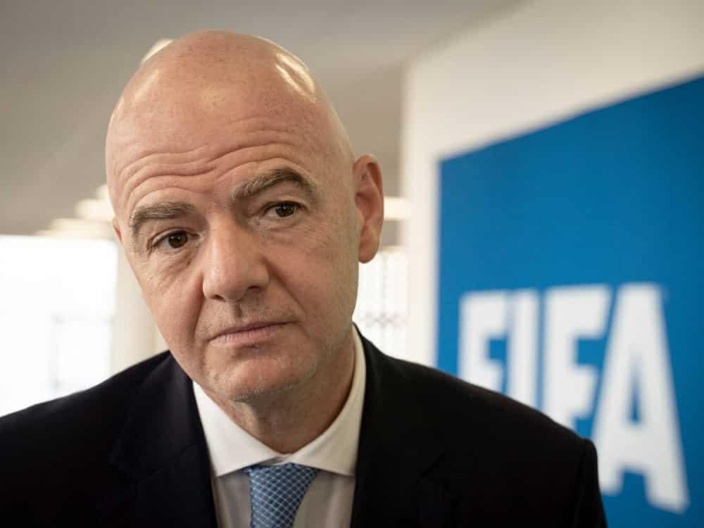 Gianni Infantinos FIFA bekommt Schadensersatz. ©SID SIMON WOHLFAHRT