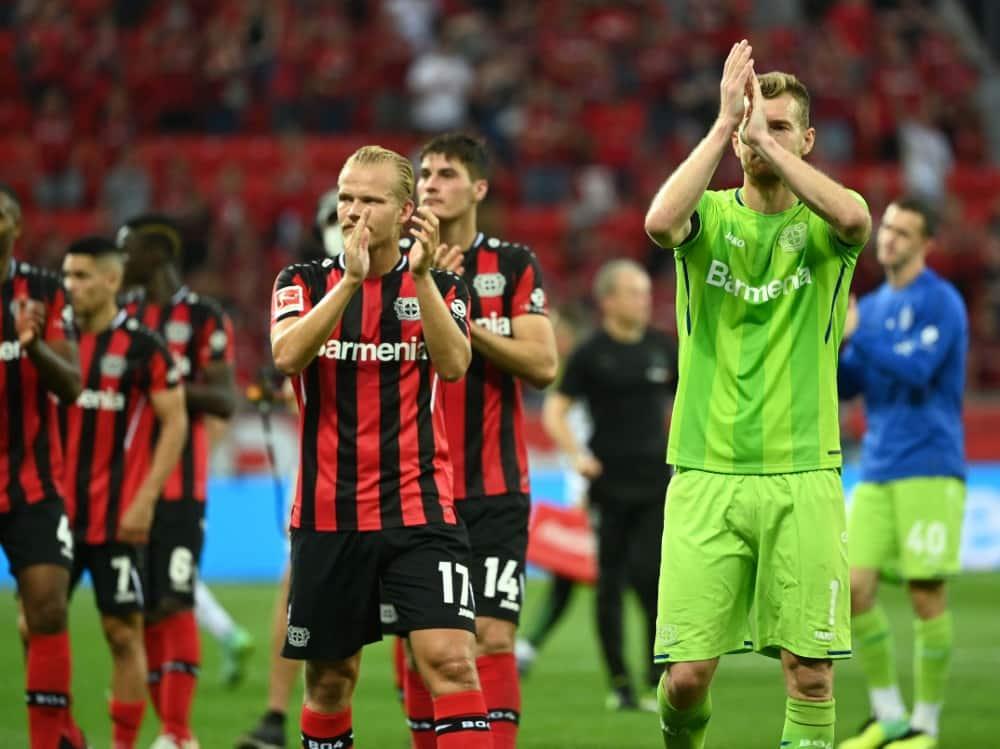 Bayer Leverkusen trifft auf Celtic Glasgow. ©SID INA FASSBENDER