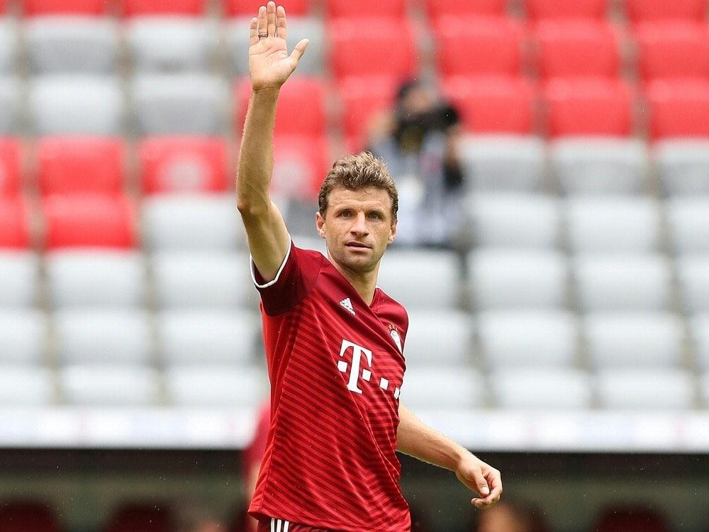 DFB-Pokal: Müller klettert in der Rekordspielerliste. ©FIRO/SID