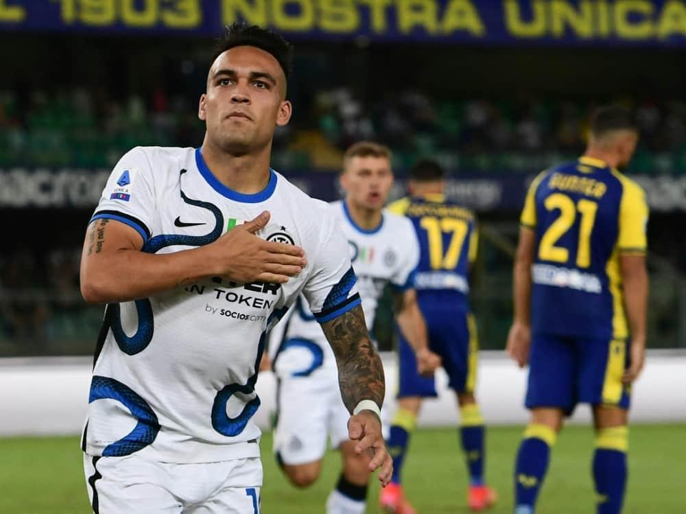 Meister Inter Mailand gewinnt nach Rückstand. ©SID MIGUEL MEDINA