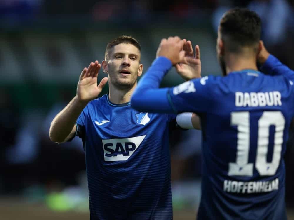 Kramaric bewahrt Hoffenheim vor Pokal-Blamage. ©firo Sportphoto/SID