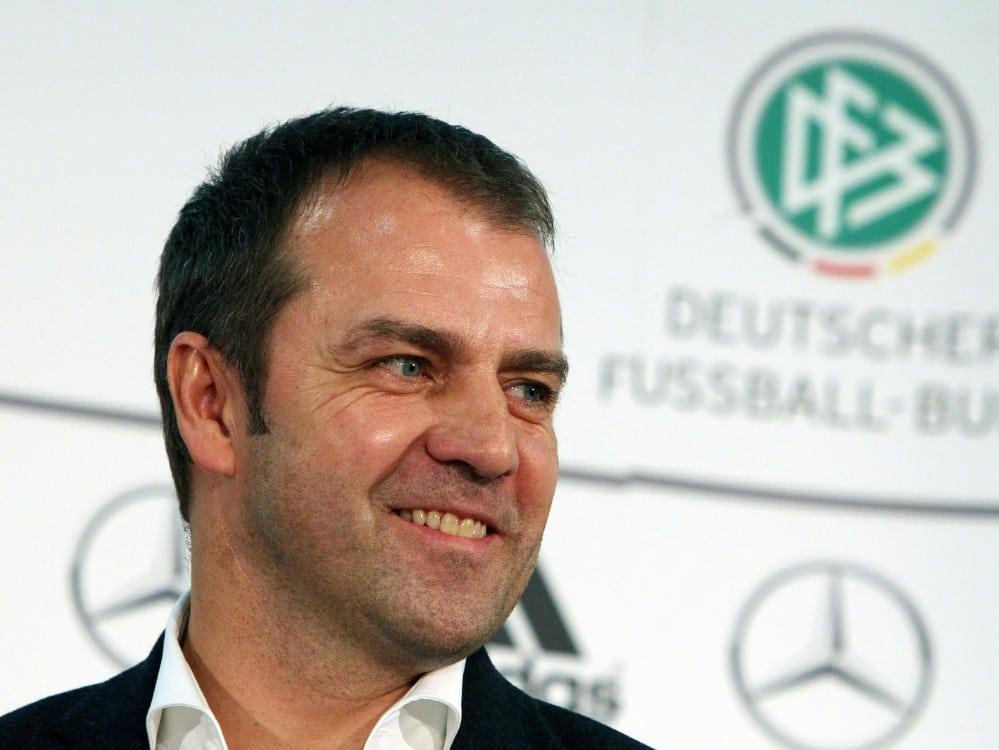 DFB-Team: Nun beginnt unter Hansi Flick ein Neuanfang. ©SID DANIEL ROLAND