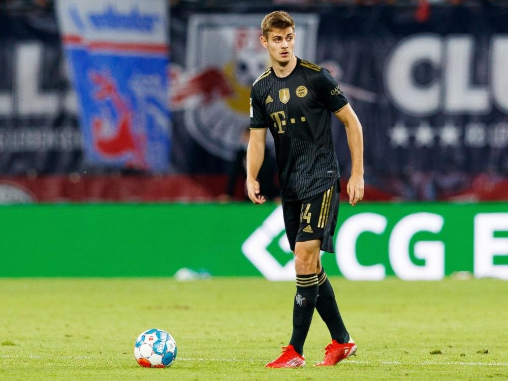 Bayern-Verteidiger Stanisic spielt für Kroatien . ©FIRO/SID