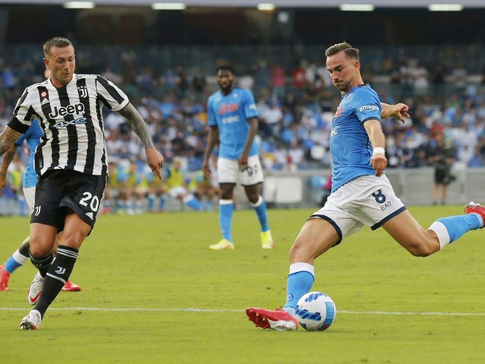 SSC Neapel sichert sich drei Punkte gegen Juventus. ©SID CARLO HERMANN
