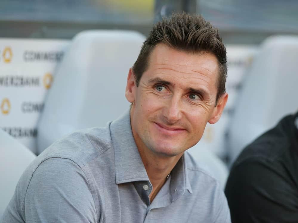 Miroslav Klose möchte künftig als Cheftrainer arbeiten. ©FIRO/SID
