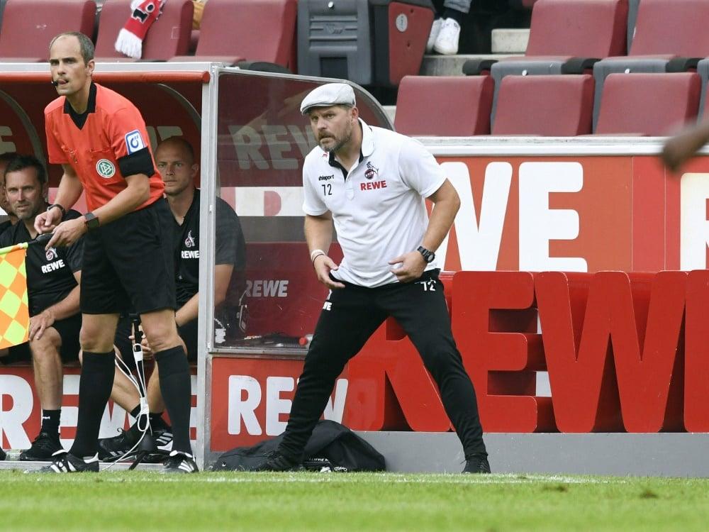 Baumgart will sich nicht nur mit Fußball beschäftigen. ©SID UWE KRAFT