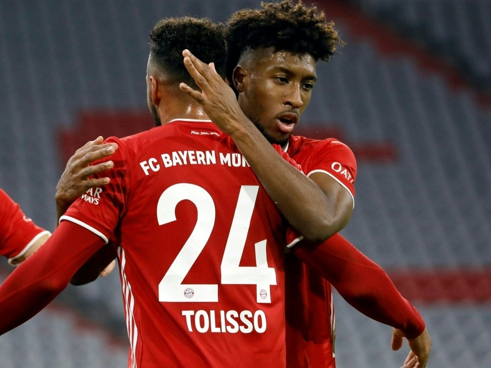 Coman und Tolisso fallen gegen Leipzig aus. ©FIRO/SID