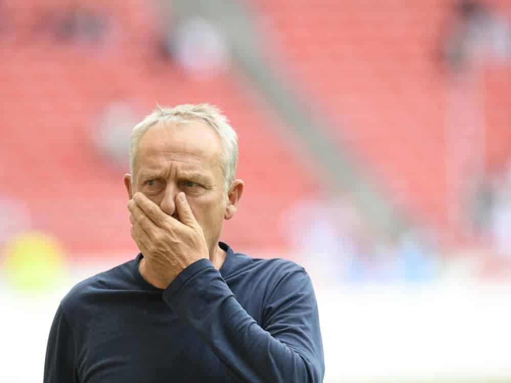 Christian Streich kritisiert die WM-Pläne. ©SID THOMAS KIENZLE