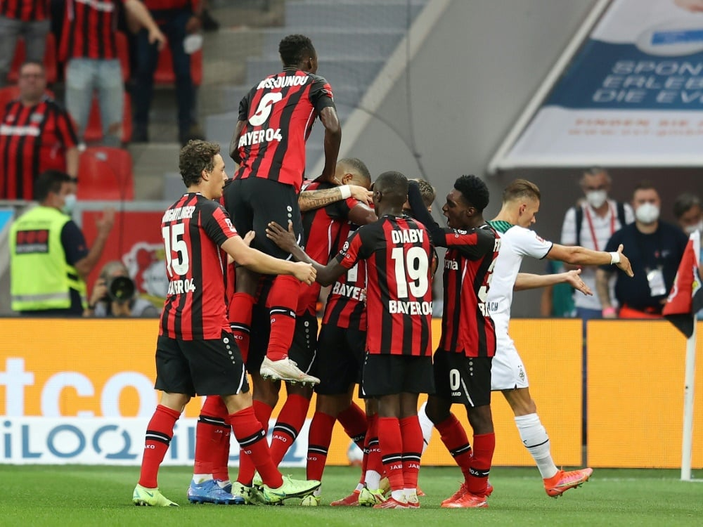 Bayer Leverkusen ist laut bwin klarer Favorit. ©FIRO/SID