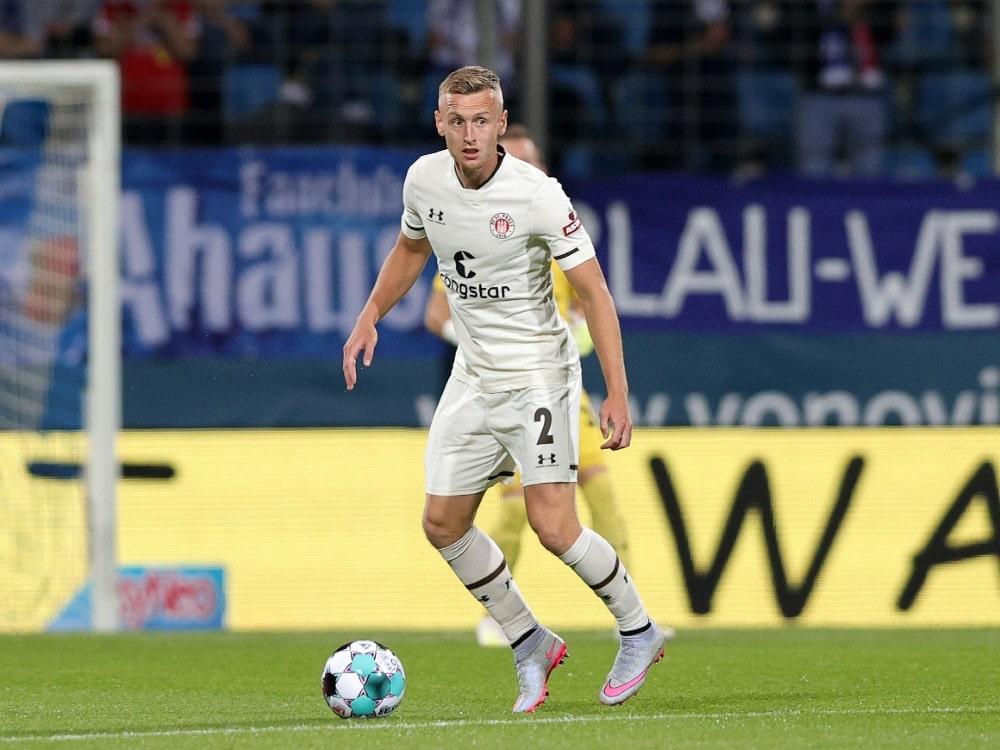 FC St. Pauli verliert gegen Hannover 96 . ©FIRO/SID