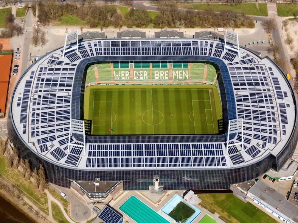Nachhaltige Innovationen im Profifußball gefordert. ©FIRO/SID