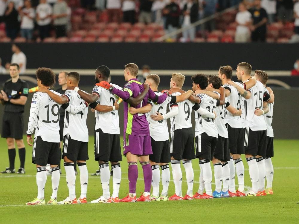 """Nationalmannschaft würdigt """"Bomber der Nation"""". ©FIRO/SID"""