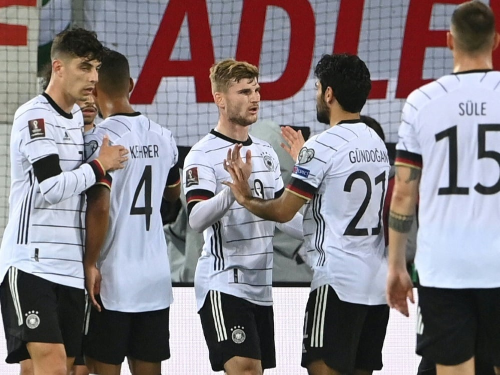 Nationalmannschaft gilt als Favorit gegen Armenien. ©SID CHRISTOF STACHE