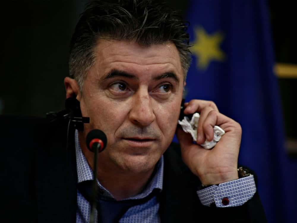 Zagorakis war erst im März gewählt worden. ©SID ALEXANDROS MICHAILIDIS