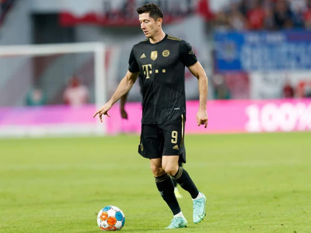 Lewandowski will auch in Zukunft beim FC Bayern spielen. ©FIRO/SID