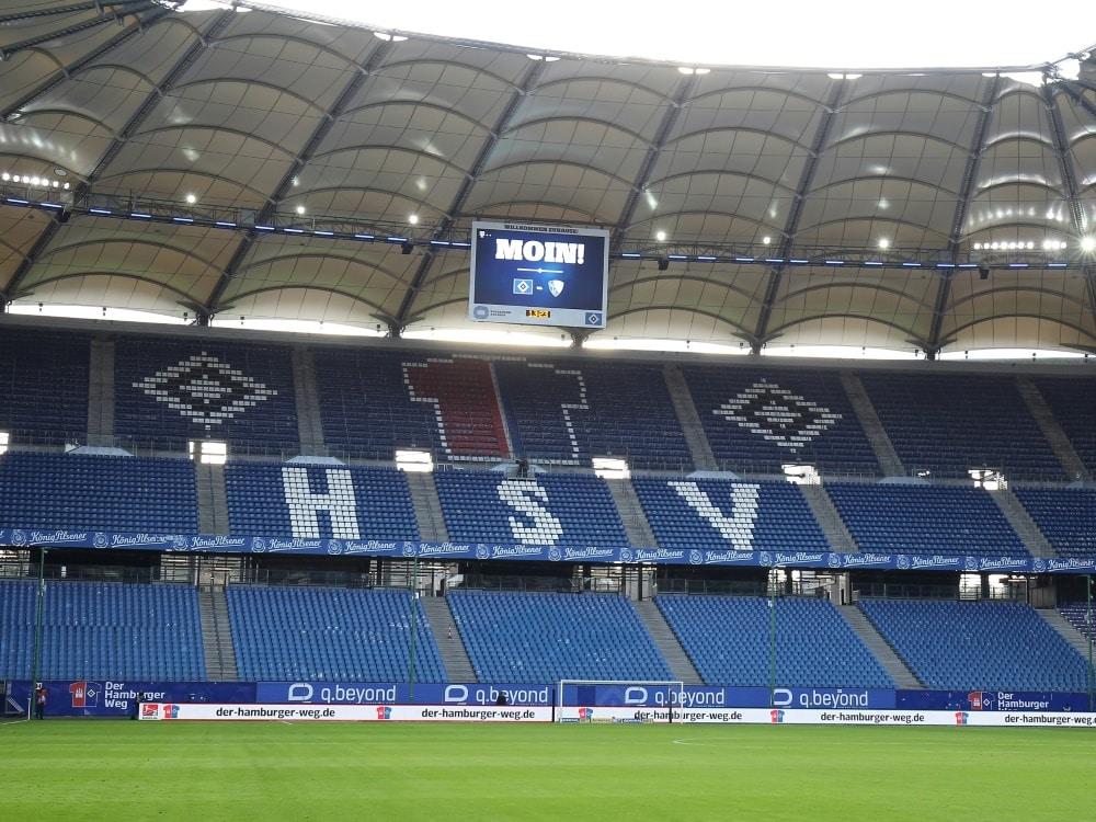 HSV kann mit 2G-Konzept Stadion füllen. ©FIRO/SID