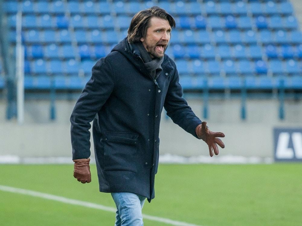 Peter Hyballa übernimmt bei Türkgücü München. ©FIRO/SID
