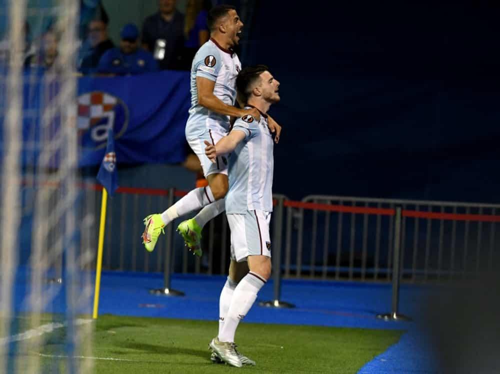 Europapokal: West Ham United gewinnt gegen Zagreb . ©SID DENIS LOVROVIC