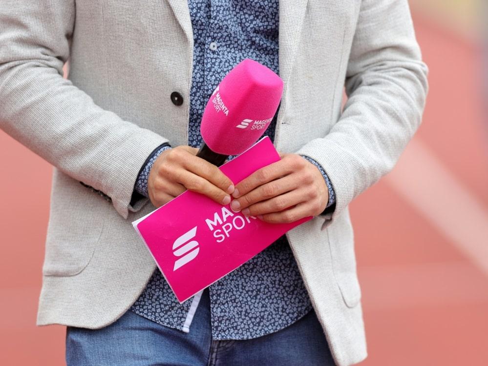MagentaSport-Inhalte künftig auch über Sky Q abrufbar. ©FIRO/SID
