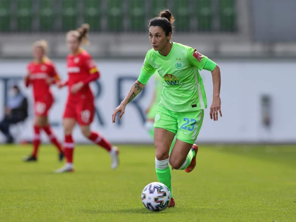 DFB-Frauen: Doorsoun muss verletzungsbedingt abreisen. ©FIRO/SID