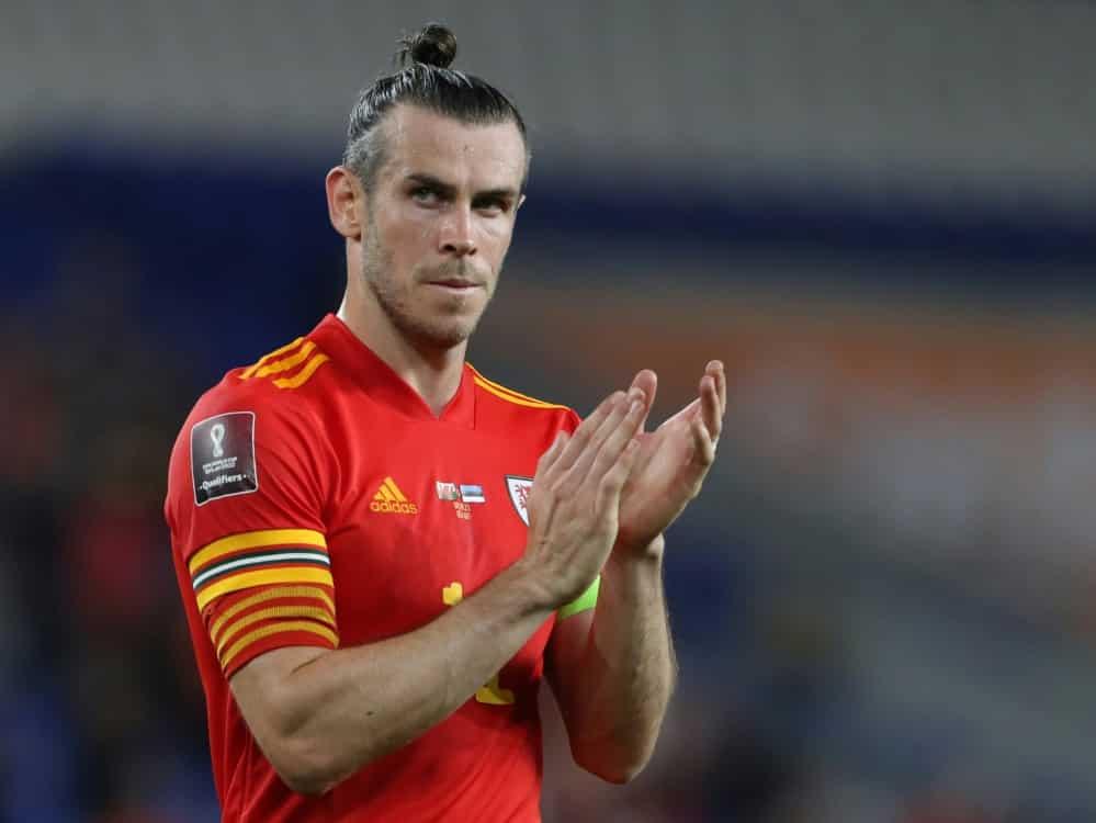 Gareth Bale nicht im Aufgebot von Wales. ©SID Geoff Caddick