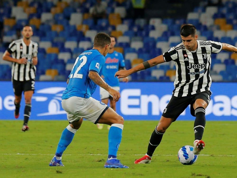 Juve verliert auch gegen Neapel . ©SID Carlo Hermann