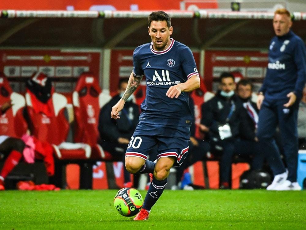 Paris: Messi startet erstmals in der Champions League. ©SID MATTHIEU MIRVILLE