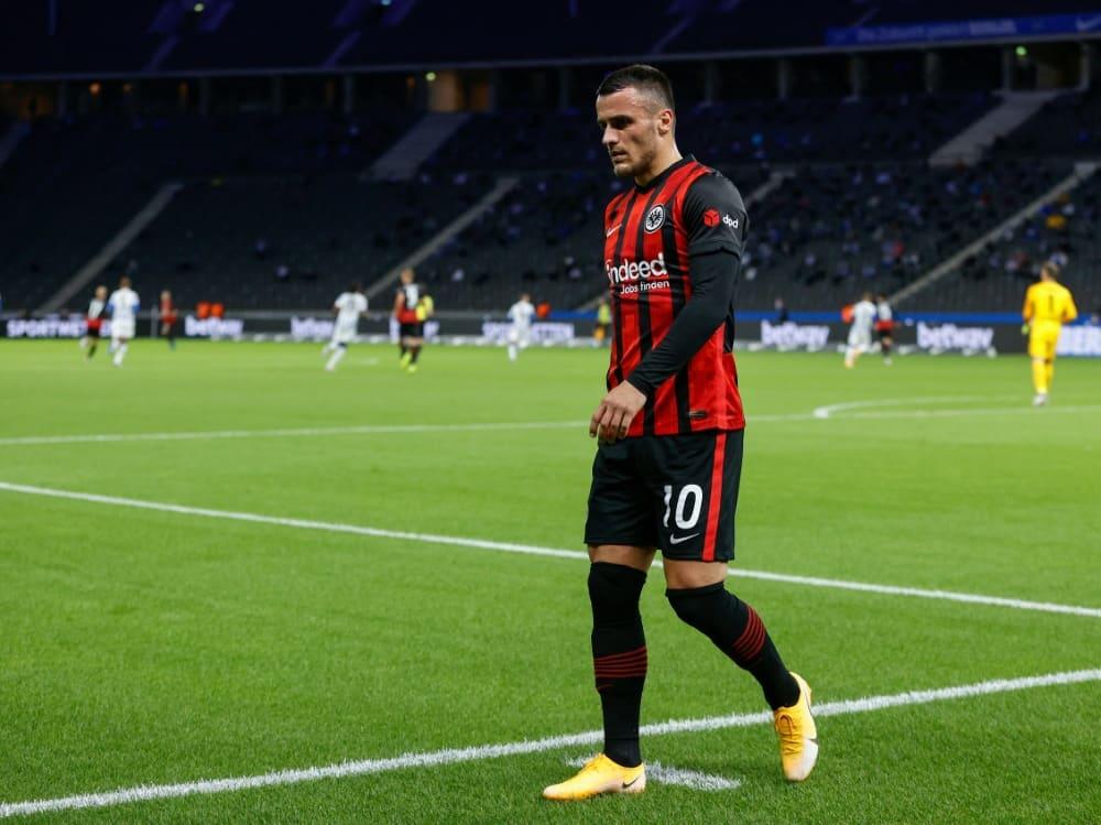Kostic wollte Eintracht Frankfurt im Sommer verlassen. ©SID ODD ANDERSEN
