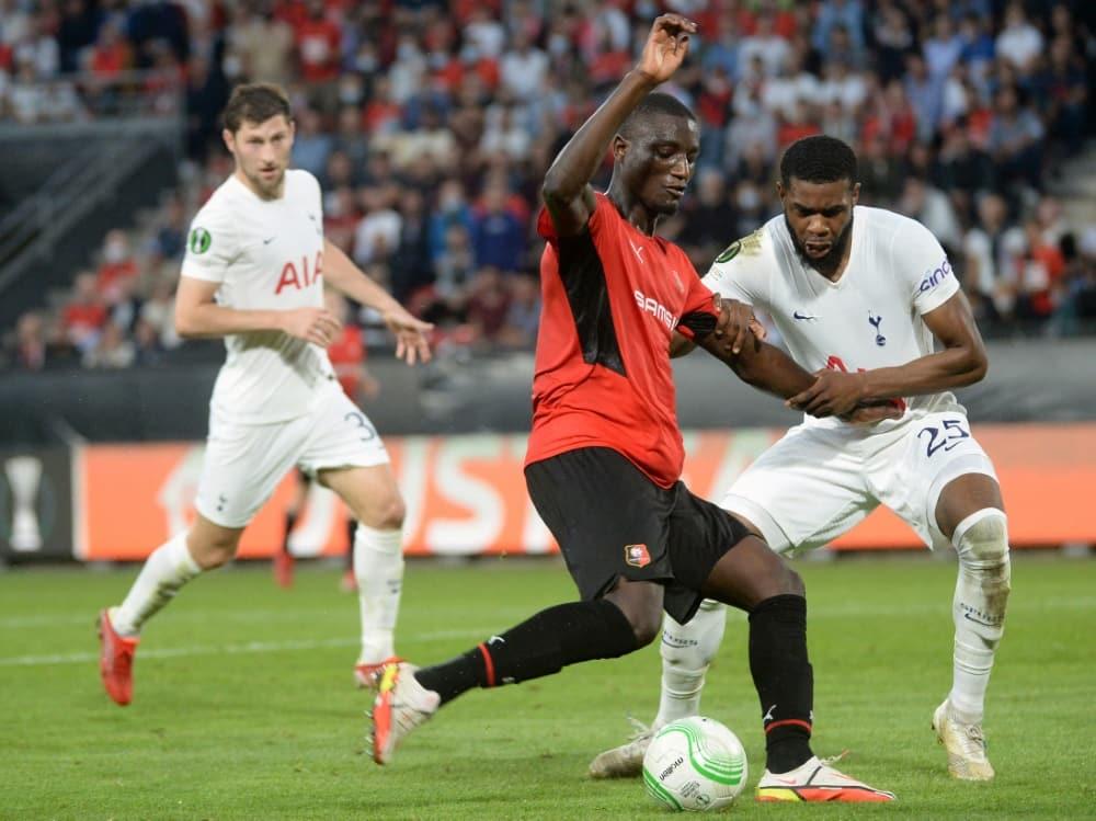 Tottenham kommt nicht über ein 2:2 hinaus. ©SID JEAN-FRANCOIS MONIER