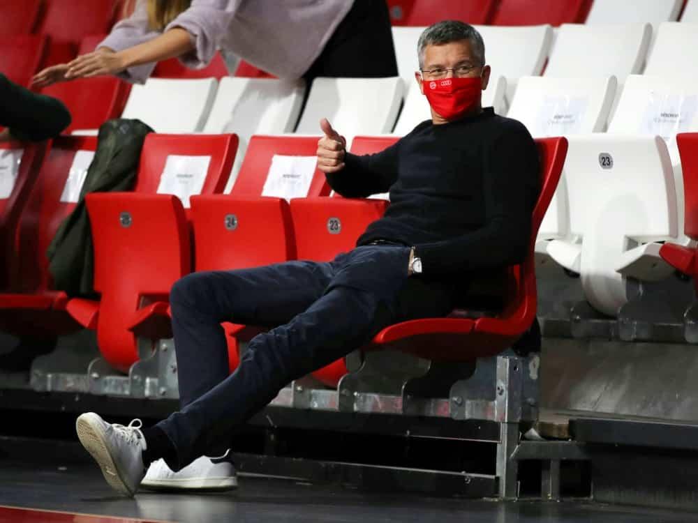 Bayern-Boss Hainer ist gegen Rhythmus-Verkürzung der WM. ©FIRO/SID