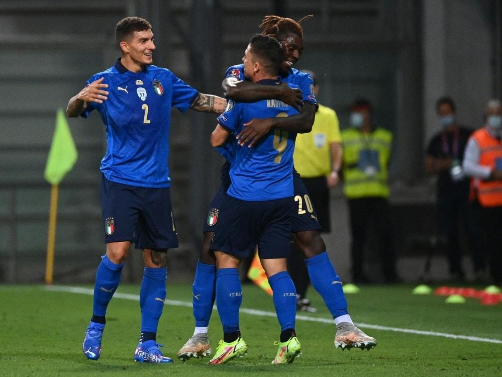 Die Italiener gewann mühelos gegen Litauen. ©SID VINCENZO PINTO