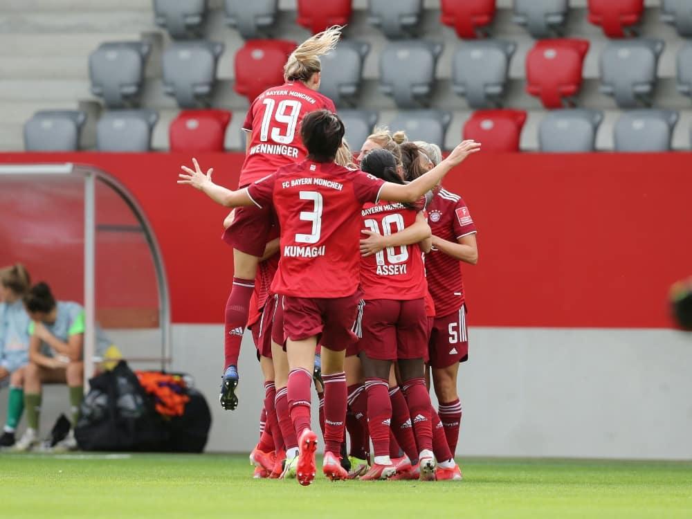 München startet mit Spiel in Lissabon. ©FIRO/SID