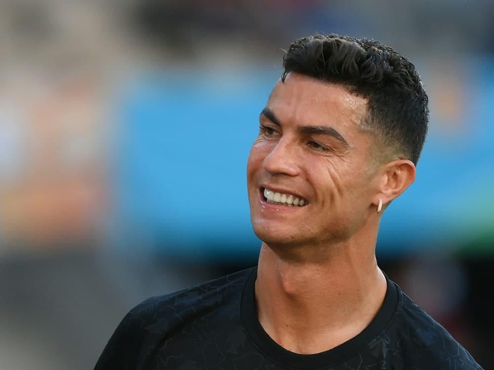 Cristiano Ronaldo: Erstes Training nach Rückkehr. ©SID LLUIS GENE