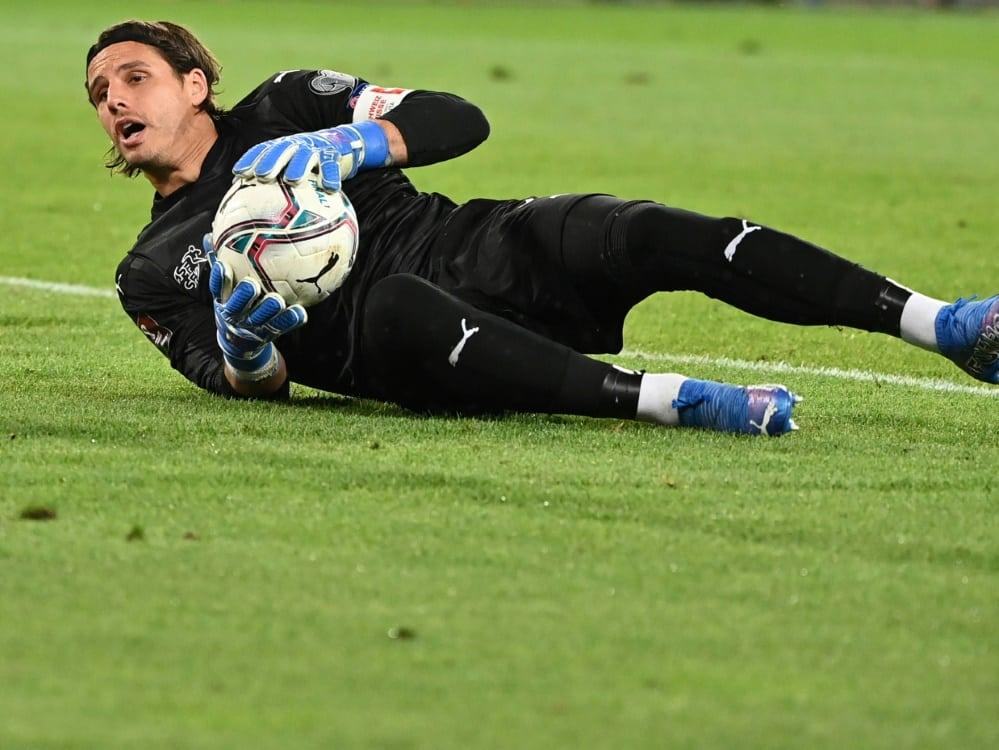 Italien verzweifelt gegen die Schweiz an Sommer. ©SID Fabrice COFFRINI
