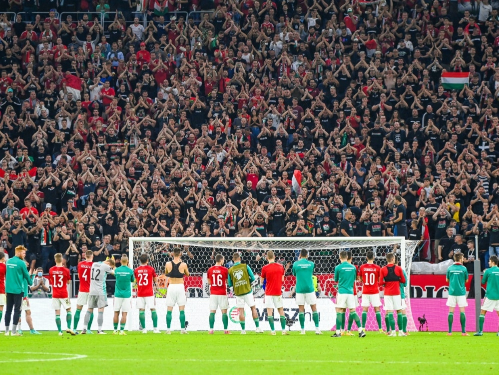 FIFA bestraft die Ungarn. ©SID ATTILA KISBENEDEK