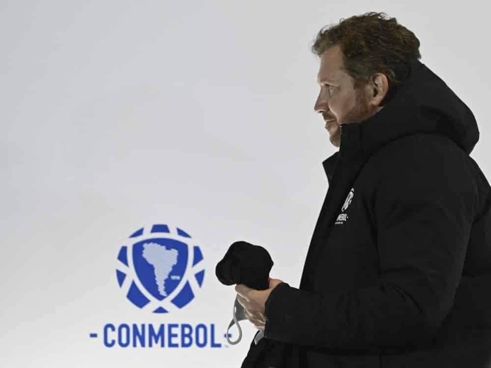 CONMEBOL-Präsident Alejandro Dominguez. ©SID PABLO PORCIUNCULA