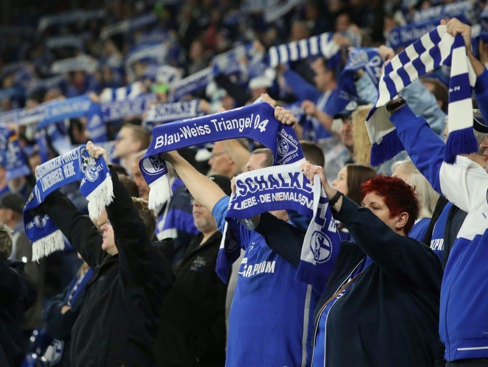 Gegen Dresden dürfen 56.617 Fans in die Arena. ©FIRO/SID