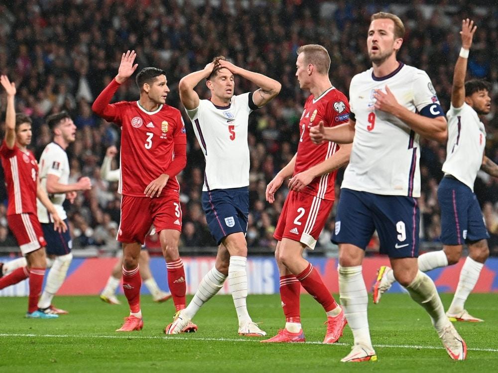 England verpasst vorzeitige Qualifikation. ©SID BEN STANSALL
