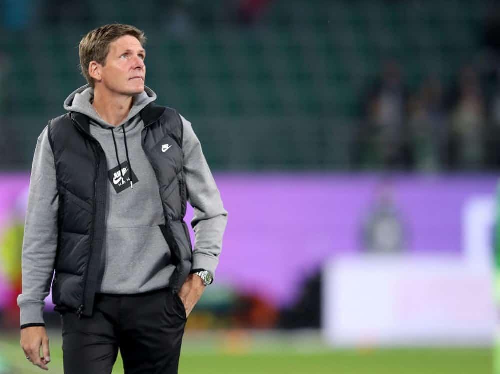Frankfurt-Trainer Glasner ist noch nicht zufrieden. ©SID RONNY HARTMANN