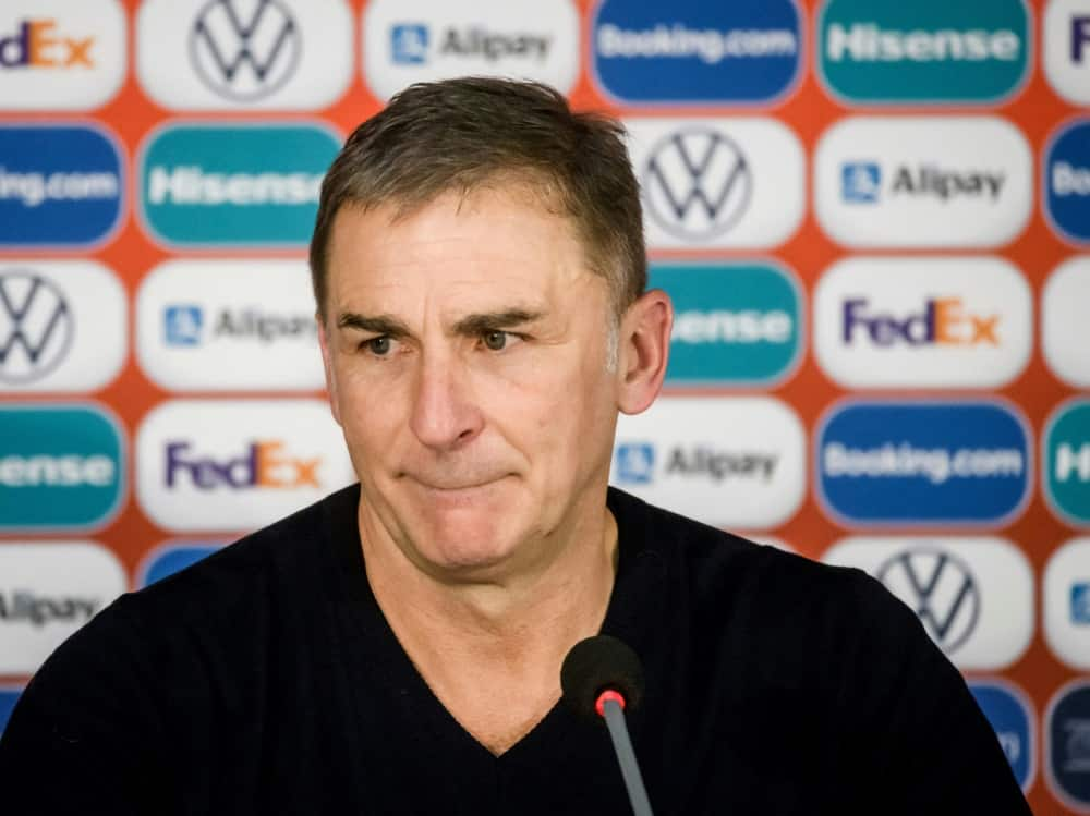 Türkei-Trainer Kuntz: Freudentränen nach dem Abpfiff. ©SID GINTS IVUSKANS