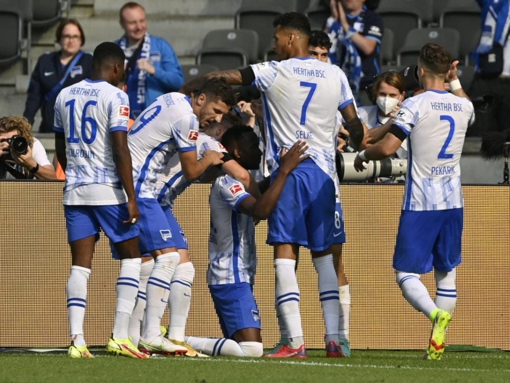 Hertha verliert gegen Freiburg. ©SID JOHN MACDOUGALL