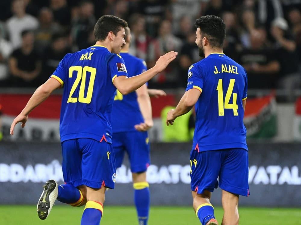Historischer Sieg für Andorra in der WM-Qualifikation. ©SID ATTILA KISBENEDEK